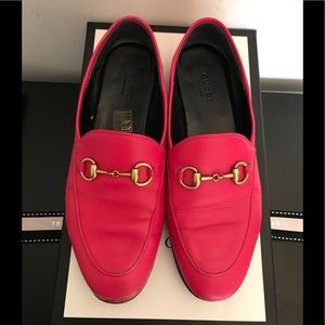 Gucci 10mm Brixton Leather Loafer EUR37/US7